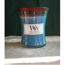 Wood Wick Cotton Flower